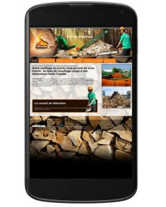 Site WordPress de Sébastienbois versionsmartphone